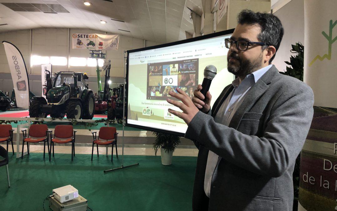Charla de presentación de SIATCA en la Feria FAME INNOWA 2019