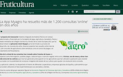 La App Myagro ha resuelto más de 1.200 consultas 'online' en dos años